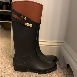 Tommy Hilfiger Riding Rain Boots